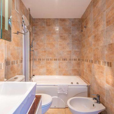 Baño Apartamento Vista Montaña Vacaciones Oromarina Torremar