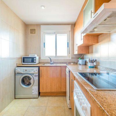 Cocina Apartamentos de Vacaciones Oromarina Torremar